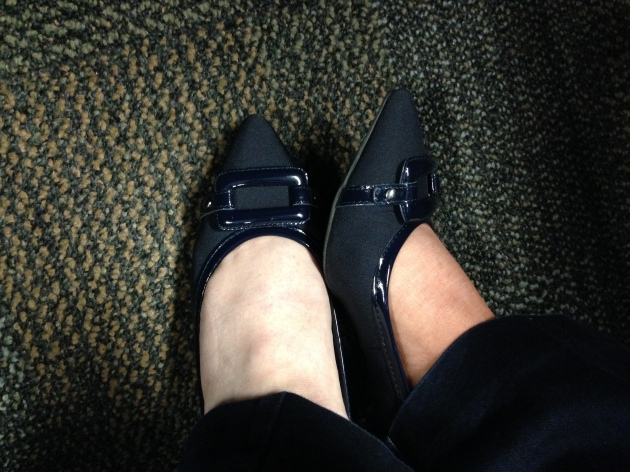 "I don't ""do"" pointy toe shoes!"