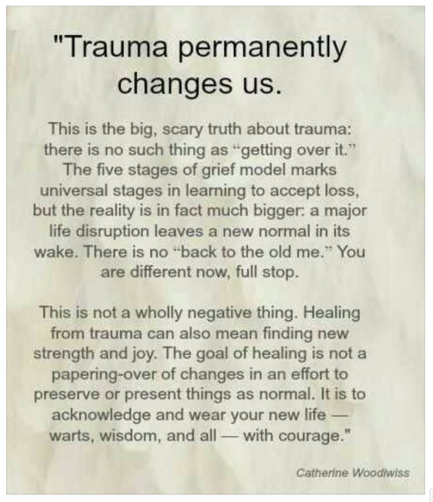 Trauma Changes